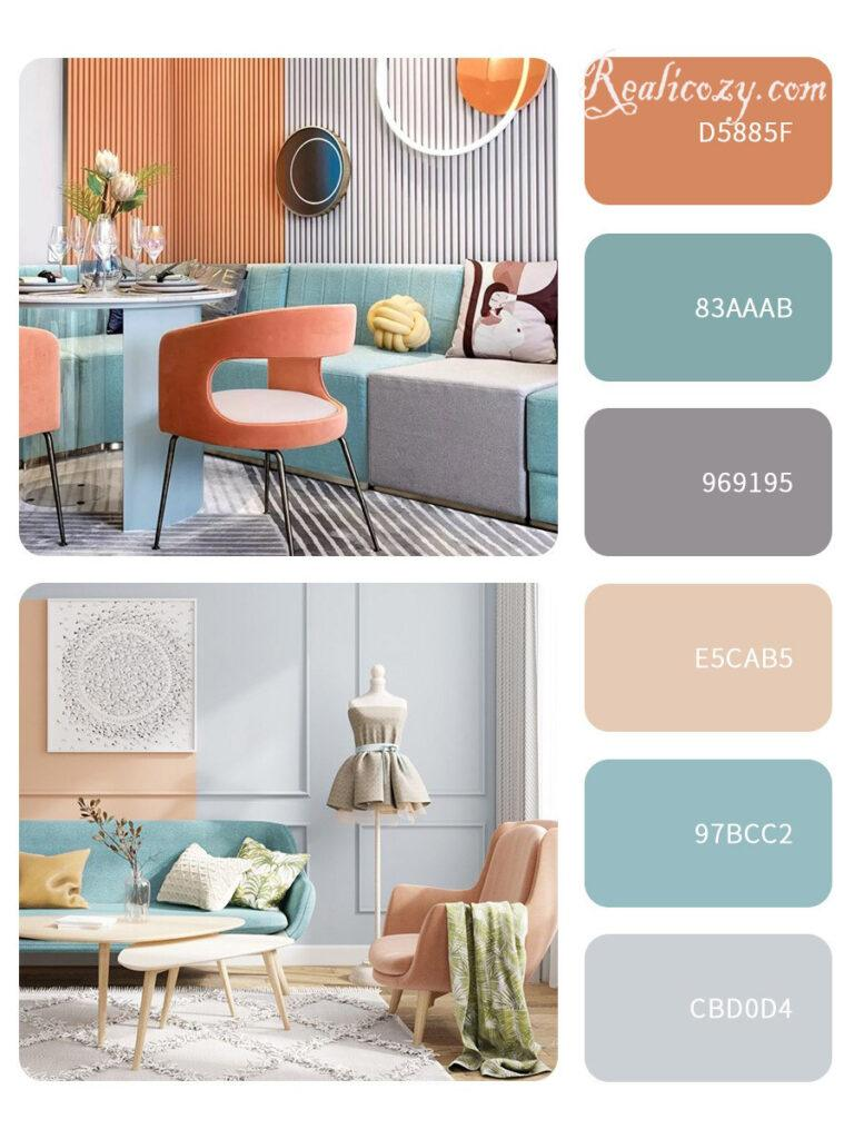 split-complementary scheme-post image